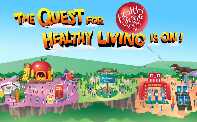 Healthy Lifestyle Festival SG 2018 1