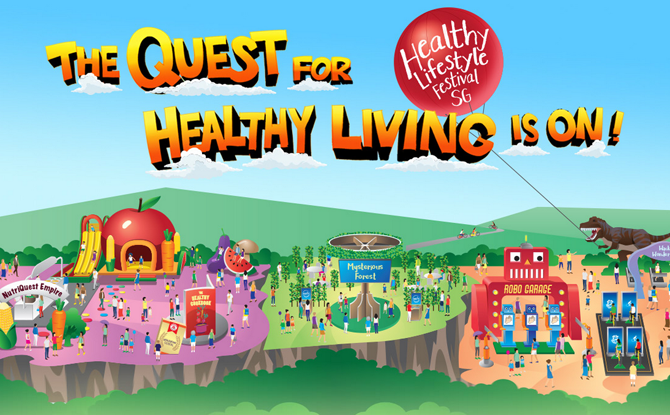 Healthy Lifestyle Festival SG 2018