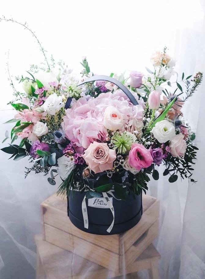 Hello Flowers bouquet