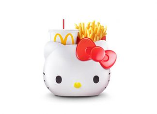 Kawaii! McDonald's Hello Kitty Meal Carrier Is Delivering Cuteness From 14 November 2019