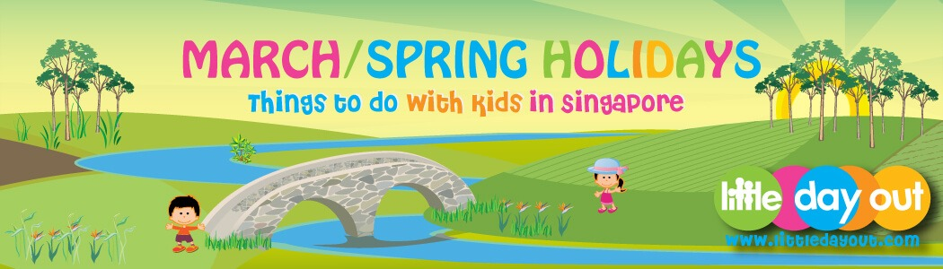 March School Holiday Banner