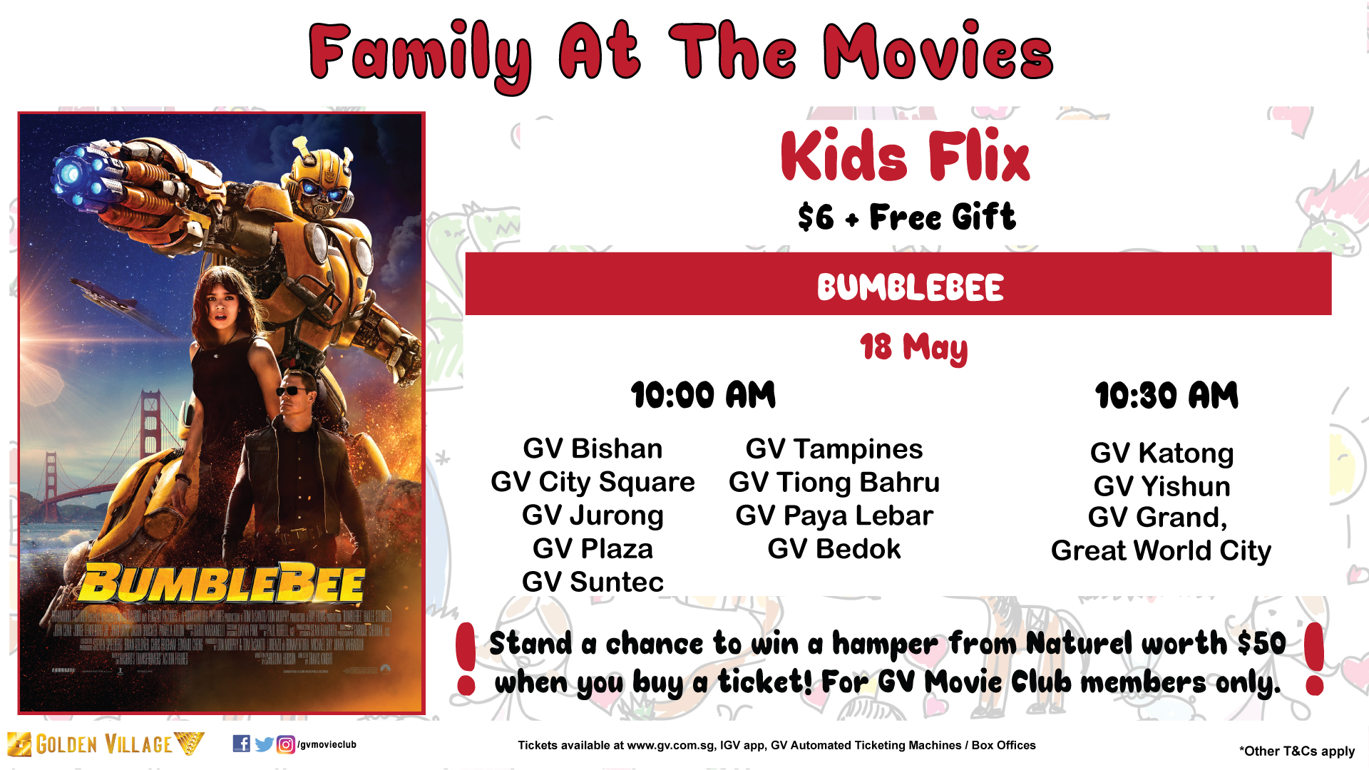 Golden Village's Family At The Movies