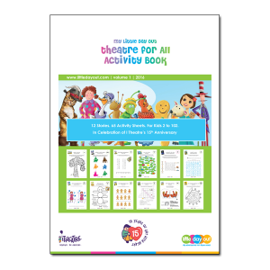 Theatre Special Giveaway - My Little Day Out Theatre for All Activity Book