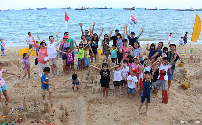 Little Day Outings: Amazing Sandcastles Workshop