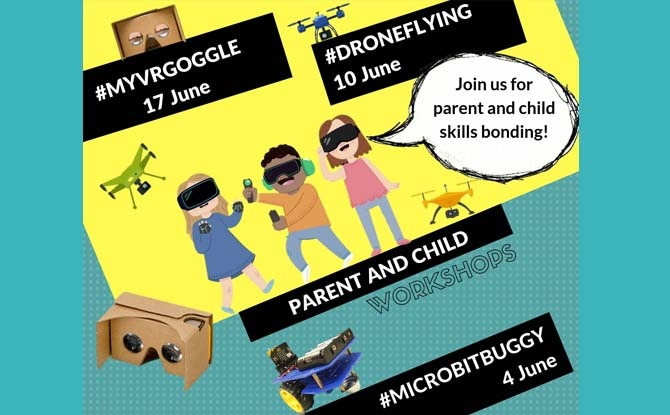 Parent and Child June Holiday Workshops