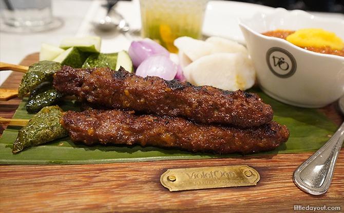 Exclusive Menus at Violet Oon Restaurants