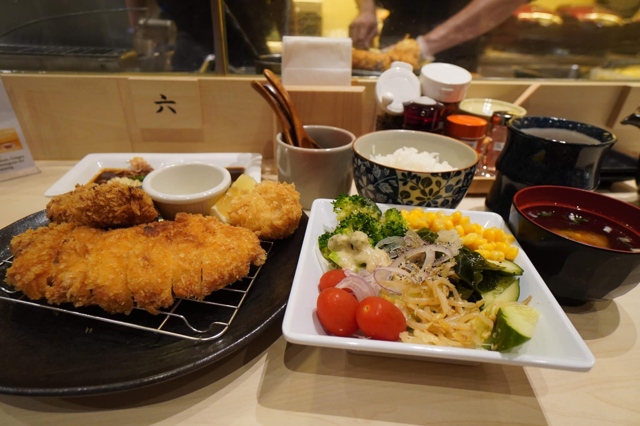 Shiokoji Pork Mix Katsu