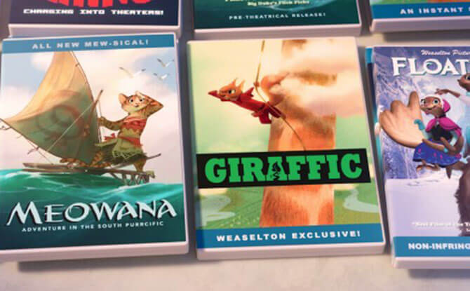 Zootopia x Pirated CDs