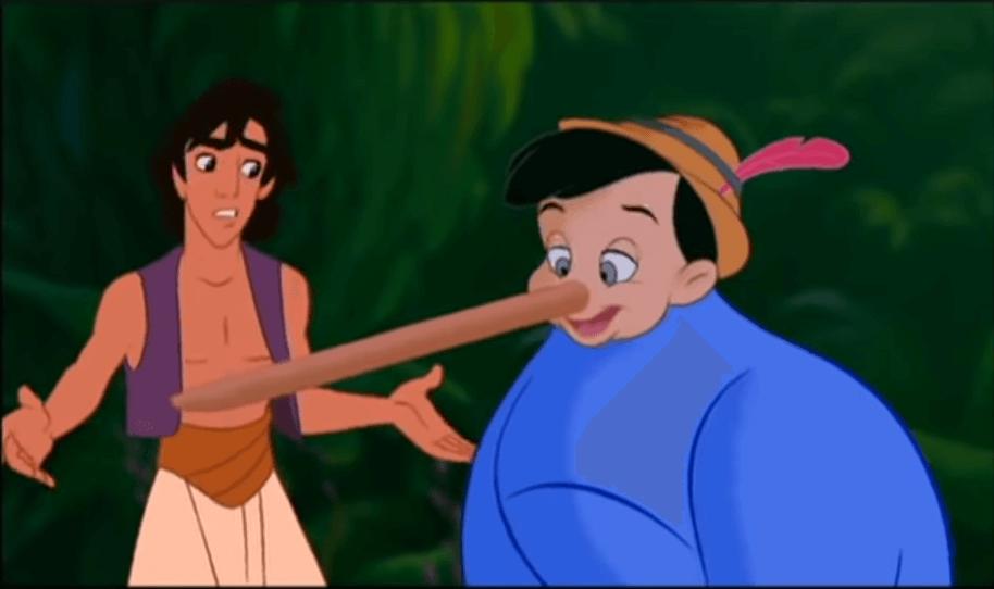 Aladdin x Pinocchio