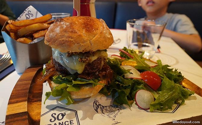 So France Beef Burger