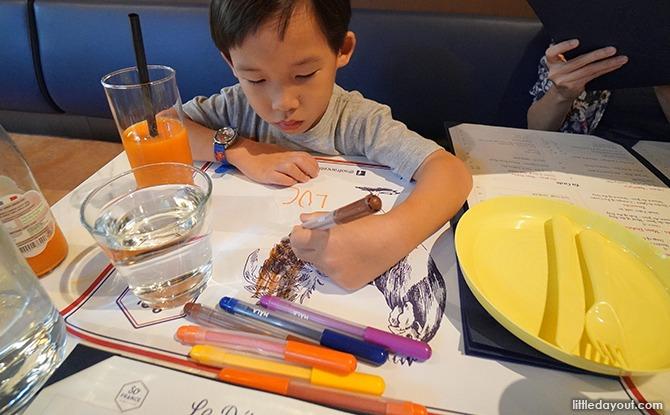 Kid-friendly restaurant