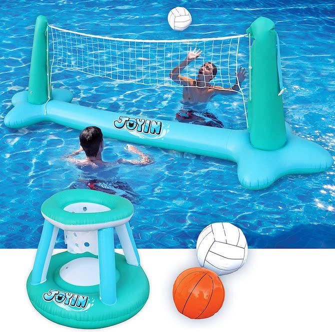 Inflatable Pool Float Set