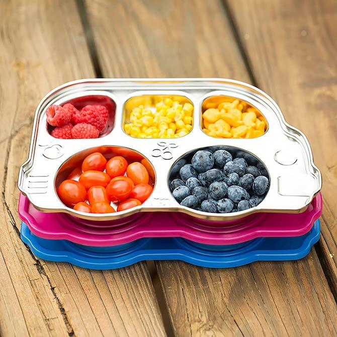 Innobaby Din Din Smart Stainless Divided Platter