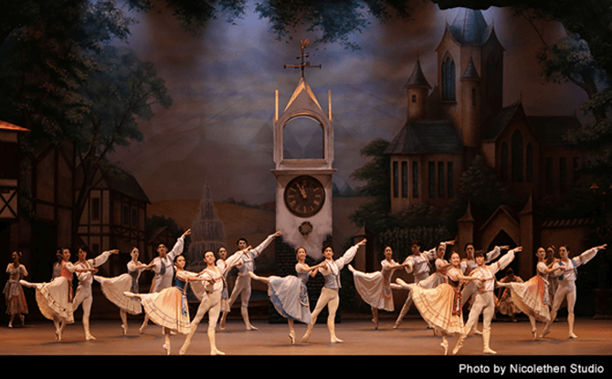 SDT Introduction to Coppelia ballet