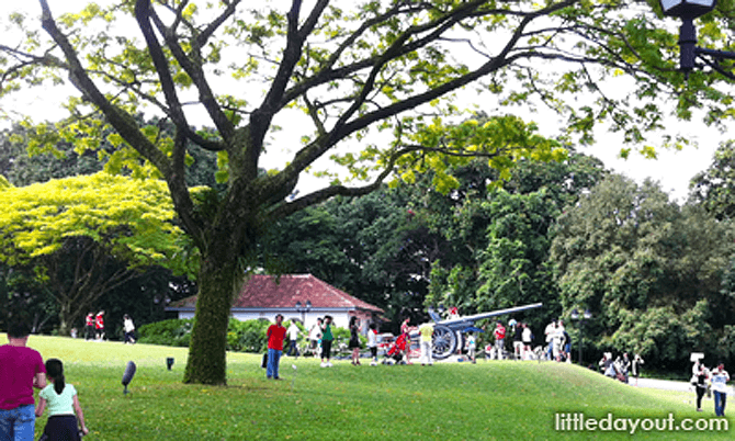 Istana Nature Guided Walk on 6 Feb 2019 (Chinese New Year Open House)