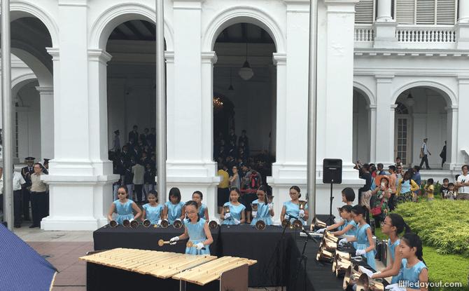 Istana Open House music performance