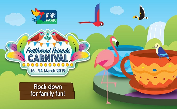 Jurong Bird Park Feathered Friends Carnival