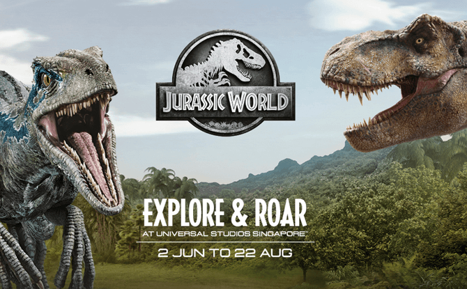 Jurassic World: Explore & Roar