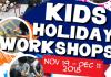 Kaesac December Holiday Workshops 2018