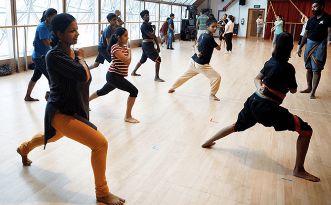 Kalaripayattu Workshop