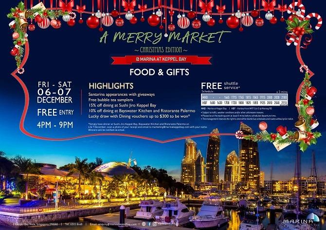 A Merry Market at Marina at Keppel Bay