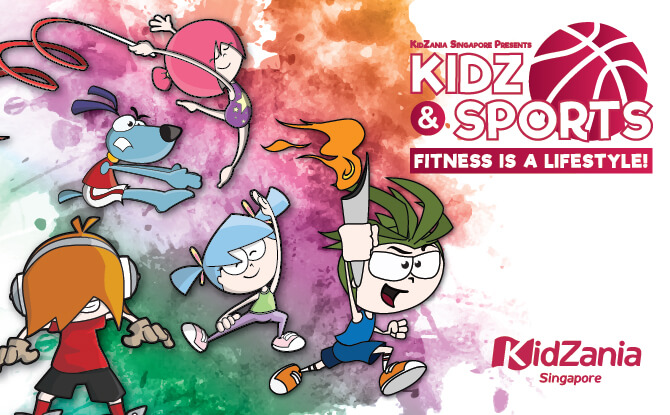 KidZ & Sports At KidZania Singapore, June school holidays 2018