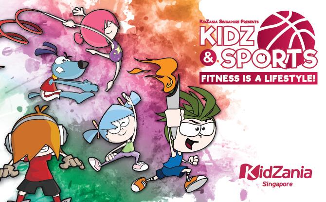 KidZ & Sports At KidZania Singapore, June school holidays 2018