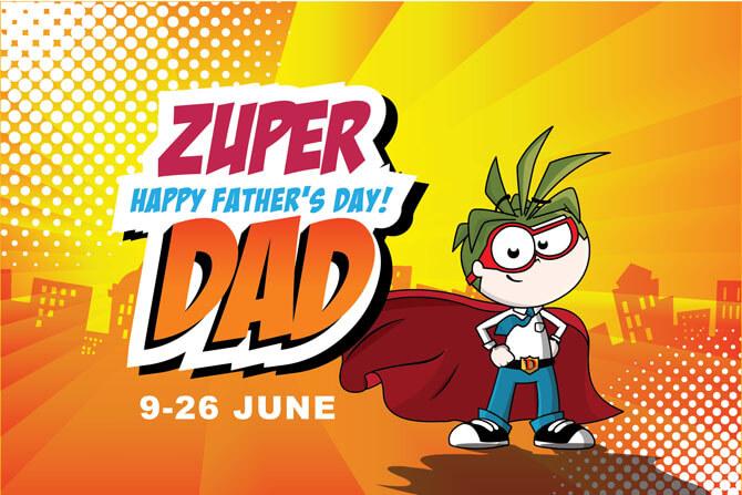 KidZania Singapore Zuper Dad