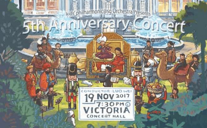 Kids' Philharmonic 5th Anniversary Concert