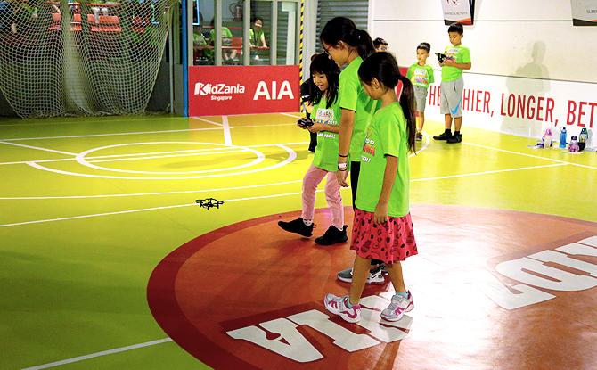 Kidz Innvation Drone Piloting