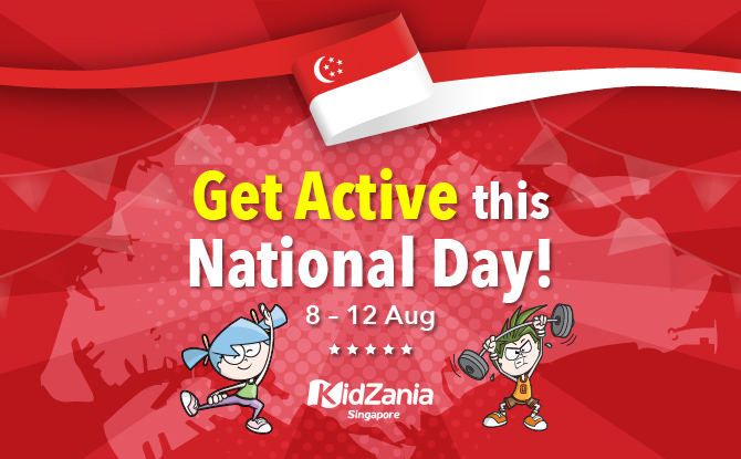 Get Active this National Day with KidZania Singapore!