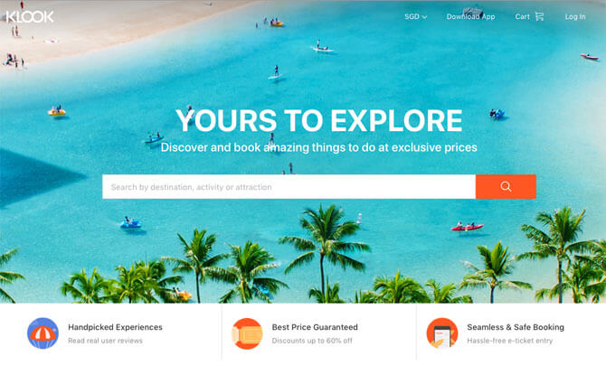 Klook: The Smart Way To 'Look & Book' Your Holidays