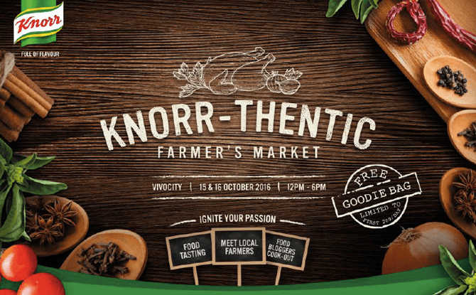 Knorrthentic Farmer's Market Pop-Up