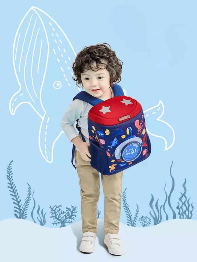 Kocotree Orthopedic Children Backpack