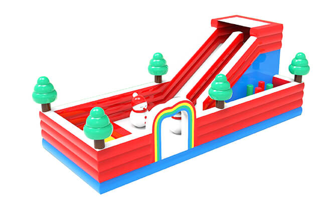 Conquer The Inflatable Obstacle Course at Aperia Mall