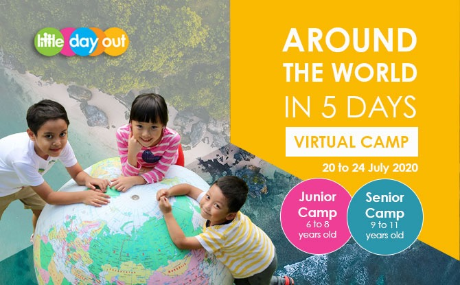 Discover The World With Little Day Out's July Holiday Camp
