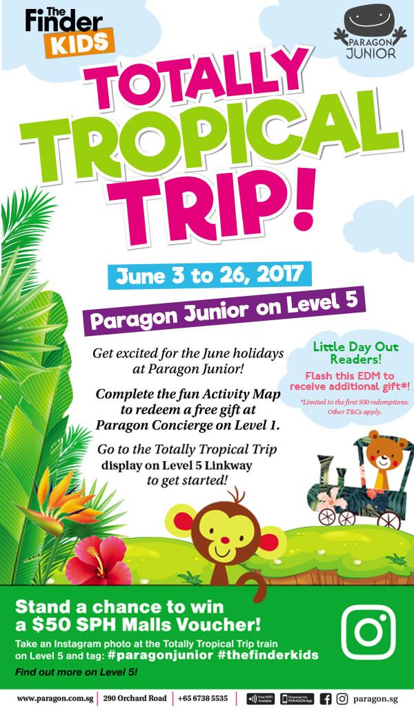 Paragon Junior: Totally Tropical Trip