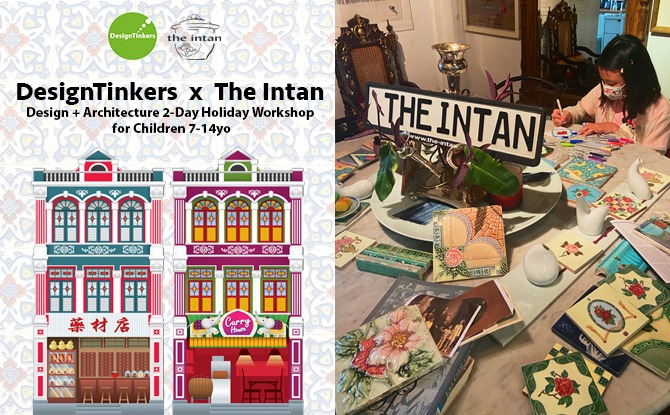 DesignTinkers x The Intan: Design + Architecture Two-Day Holiday Workshop
