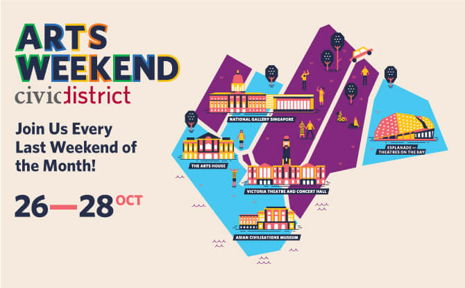 Arts Weekend Civic District - 26 to 28 October 2018