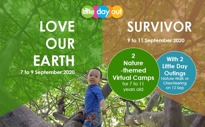 September Holiday Online Camps 2020: Love Our Earth And Survivor