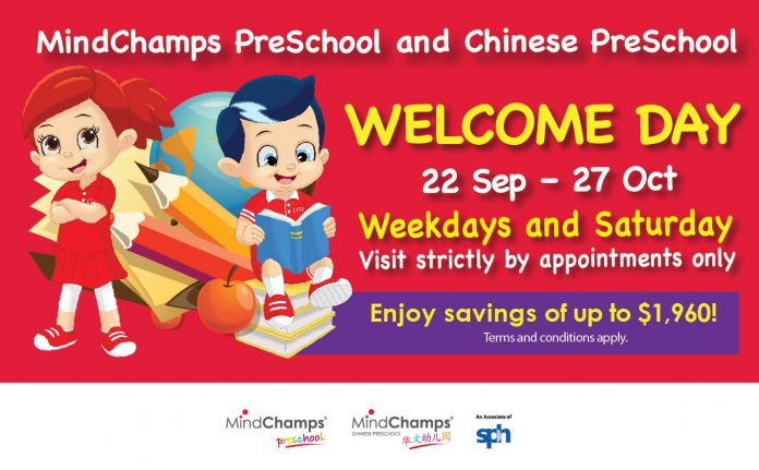 MindChamps Preschool and Chinese Preschool Welcome Day