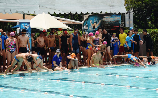 Swim for Hope at SAFRA Clubs