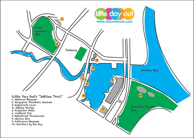Jubilee Trail Map