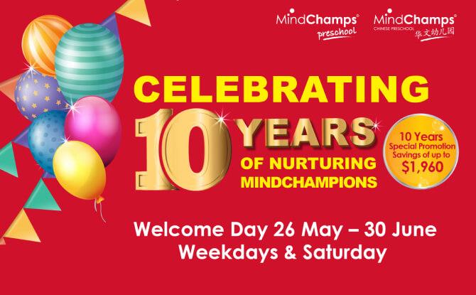 MindChamps PreSchool Welcome Day: Celebrating 10 Years of Nurturing MindChampions