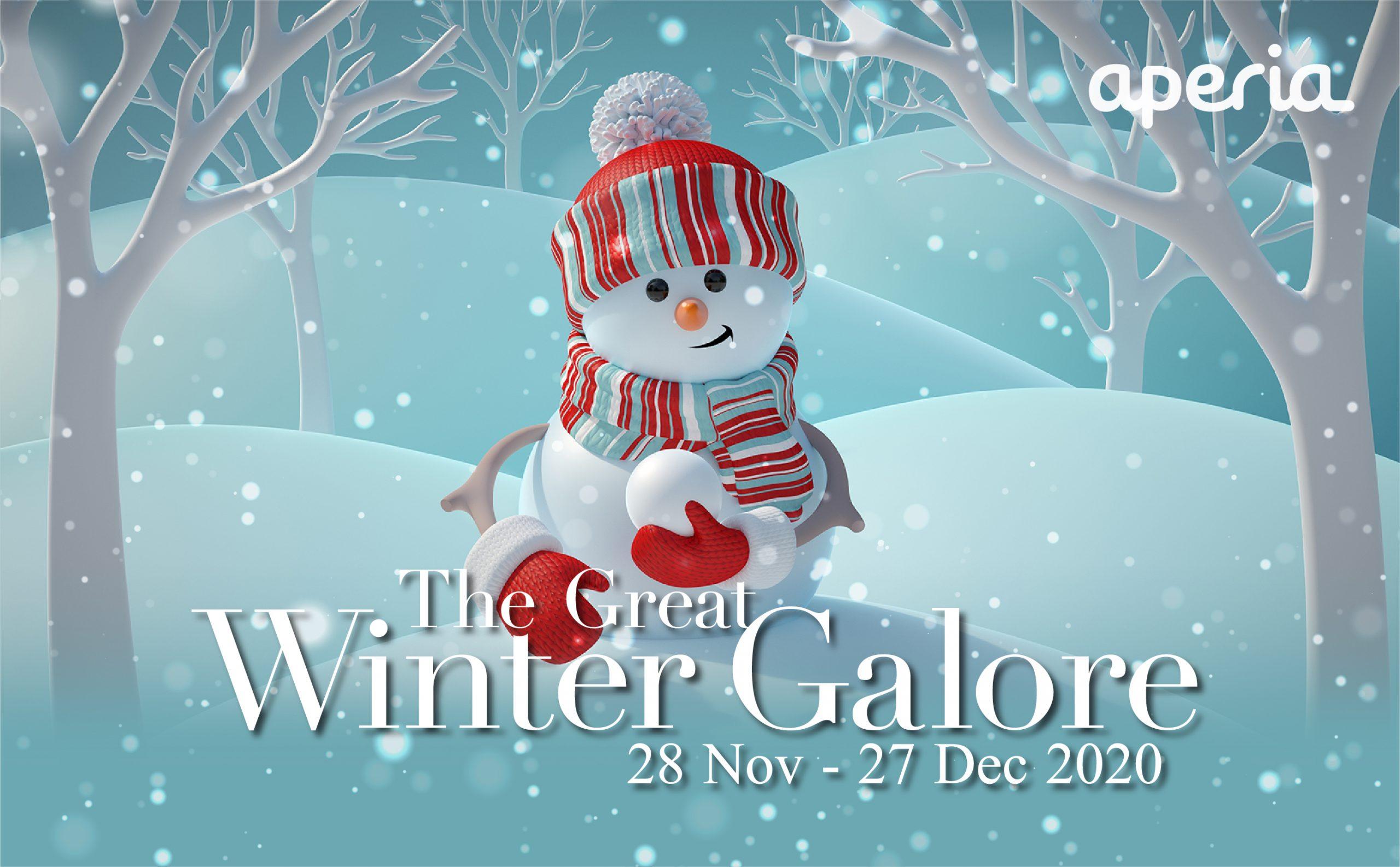 Aperia Mall: Go on a Great Winter Escape