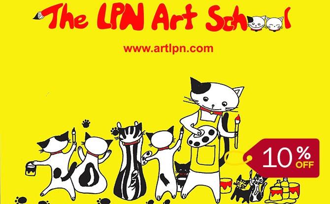 LPN Art School Deal and Promo Code