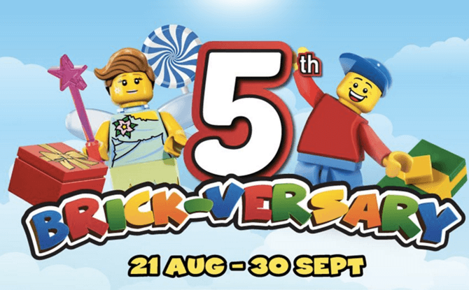 LEGOLAND Malaysia's 5th Brick-versary