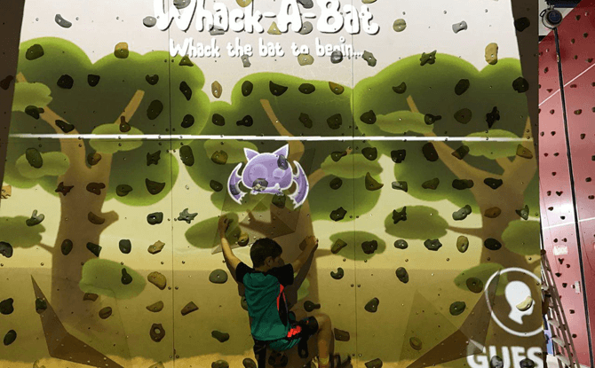 Let Em Play rock wall