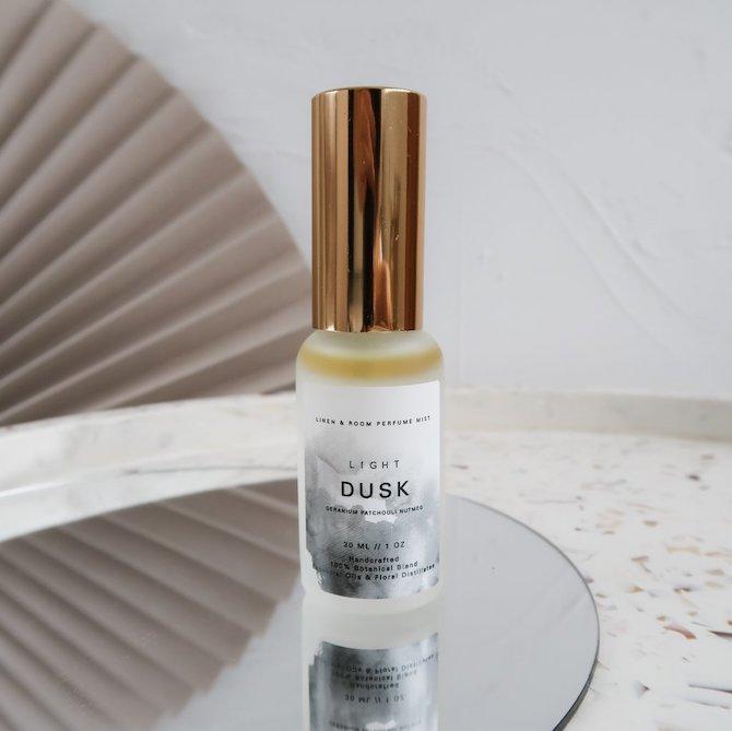 Light Dusk Organic Room & Linen Perfume Mist