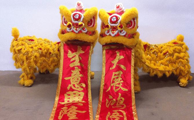 Lion Dance Performances - Singapore 2017